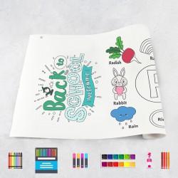 Zeichnungen auf Rolle Alphabet R – Z