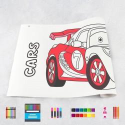 Zeichnungen auf Rolle Autos 1
