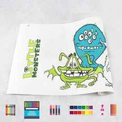Zeichnungen auf Rolle Monster