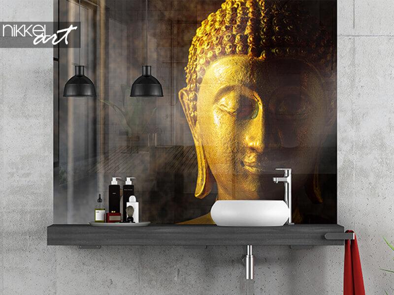 Badezimmer Foto Rückwand Thailändischer Buddha
