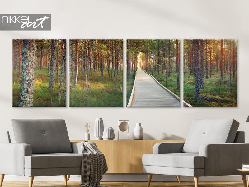 Leinwand-Panoramafotos zugeschnitten auf Ihr Interieur