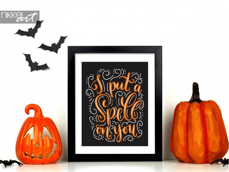 Ergänzen Sie Ihr Halloween-Partydekor mit diesen gruseligen Postern