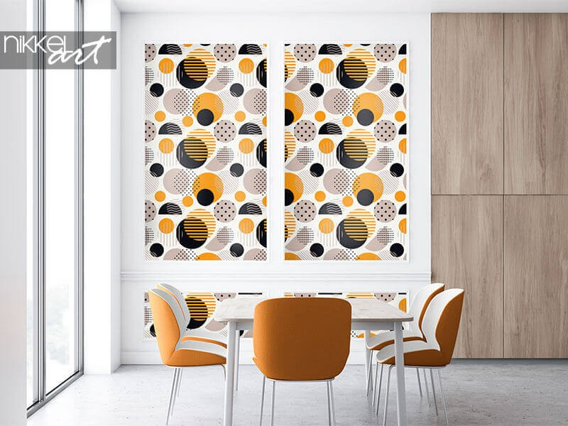 Polka-Dot-Tapeten für jeden Wohnstil