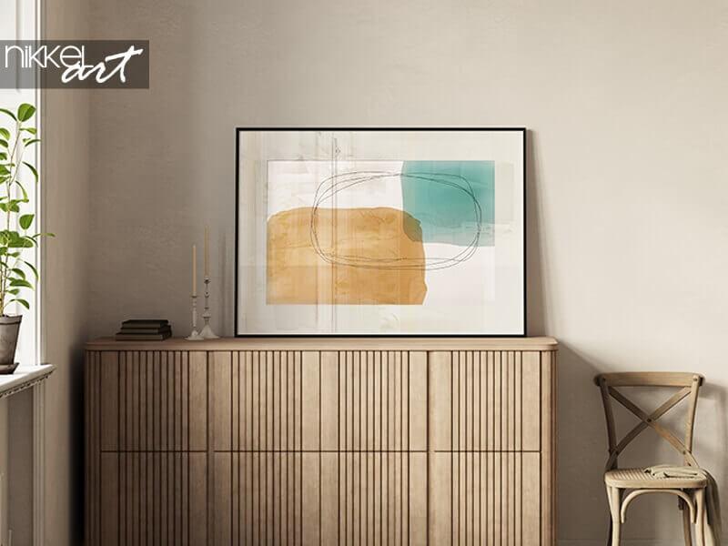 Minimalistische Poster für ein modernes Interieur