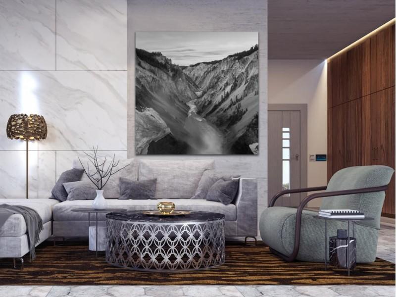 Zum Wegträumen: Schwarz-Weiß-Fotos von Landschaften auf Alu-dibond