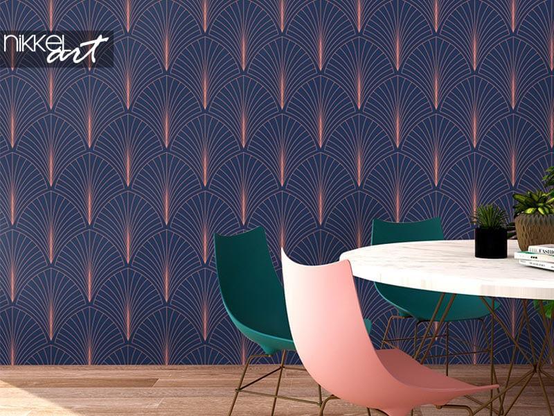 Interior Design Trend: Art Deco Tapete