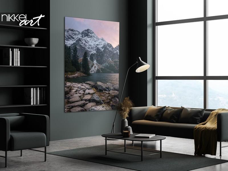 Einrichtungsidee: fotodrucke mit bergen