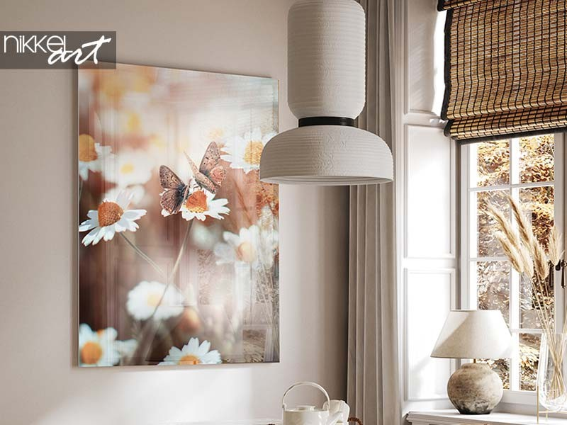 Ideen für die aufhängung ihres fotos auf acrylglas