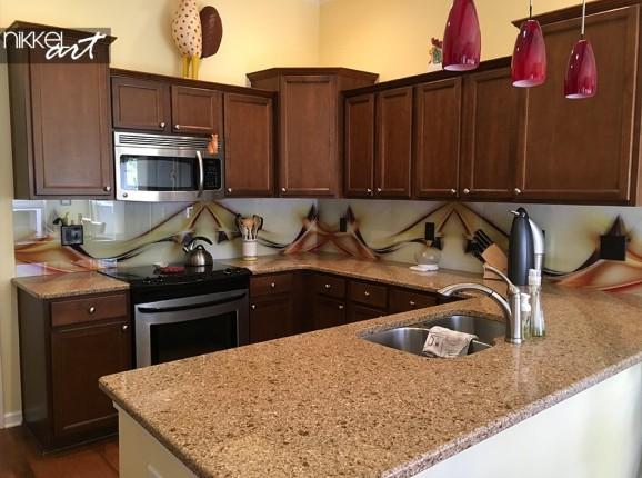 Kundenfoto Glas Küche Rückwand
