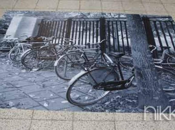 Foto auf Gartenposter Fahrrad