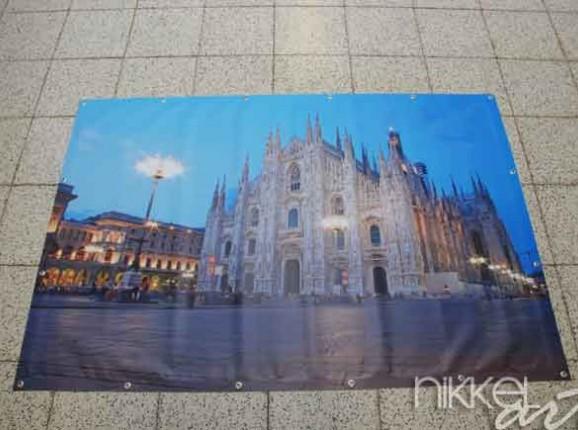 Foto auf Gartenposter Milan