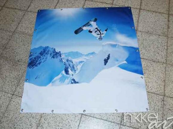 Foto auf Garten Plakat winter