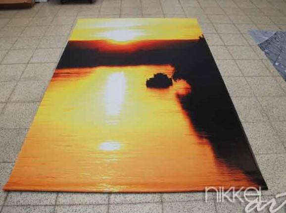 Foto auf Gartenposter Sonnenuntergang