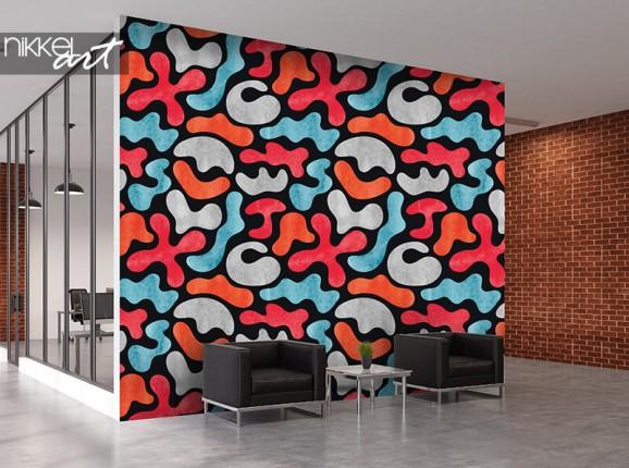 Graffiti-Tapete