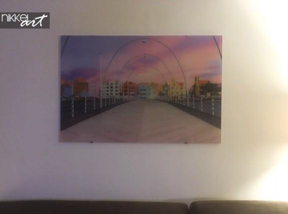 Gemälde auf Glas Brücken