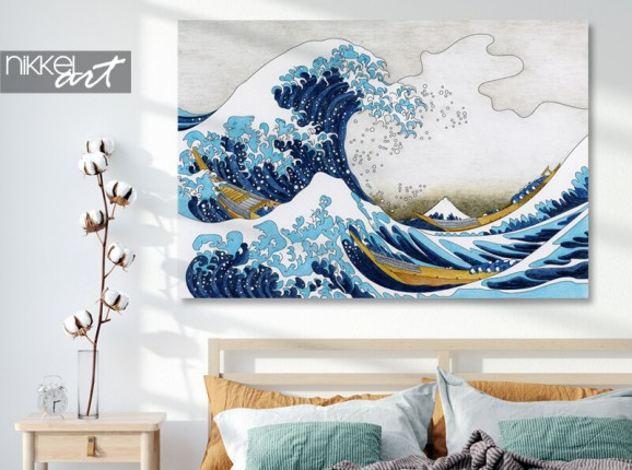 Foto von Hokusai auf Alu-Dibond