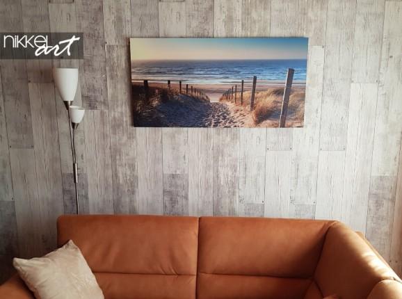 Foto auf Alu-Dibond von einem Strand