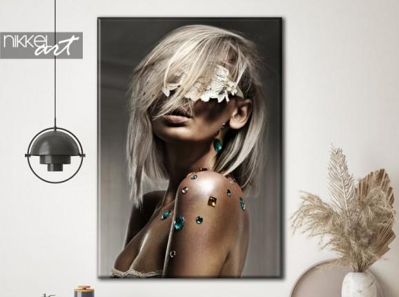 Glamouröses Foto auf Leinwand