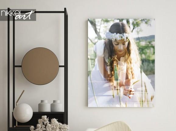 Kommunionsfoto auf Acrylglas